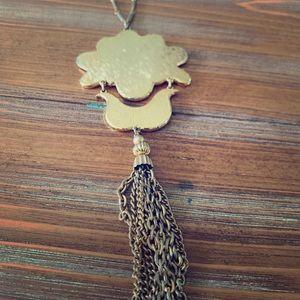 Vintage Gold Costume Necklace